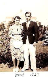 Nanny and Poppy - the dating years.