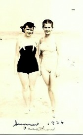 Tell me - does this scream Bond girl or what? Nanny is the spy on the left.